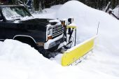 Plow In The Snow