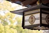 Lamp Decoration of Meiji Shrine