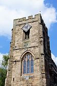 St James church tower, Warwick.