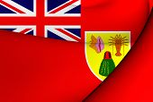 Civil Ensign Of Turks And Caicos Islands