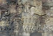 Relief At Preah Khan