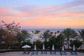 Sunset in Sharm el-Sheikh