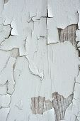 White Peeling Paint