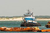 picture of inlet  - construction ships in oregon inlet outer banks nc - JPG