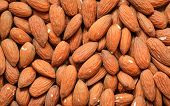 Almonds As Food Background