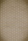 Closeup Of Brown Brick Wall As Background Or Texture