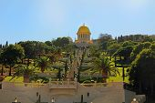 Shrine of Bab and its Gardens in Haifa Israel