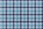 Tartan Blue Pattern - Plaid Clothing Table