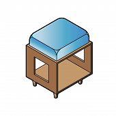 Short Stool Chair