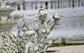 White Angle Statue