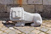 Statue Of Little Lion In Lviv, Ukraine