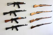 Firearms On The Wall