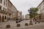 Market Square In Lviv - The Central Square Of The City
