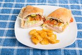 Italian Hoagie With Chips