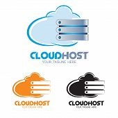 Cloud Host Logo