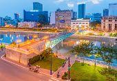 Mong bridge, Ho Chi Minh, Vietnam