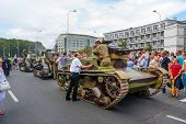 Vintage Tanks Parade