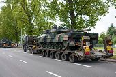 Leopard 2 Tanks Transport