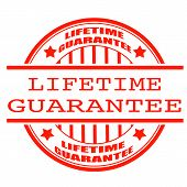Lifetime Guarantee Stamp