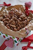 foto of pecan  - Candied almond and pecan with brown sugar and cinnamon - JPG
