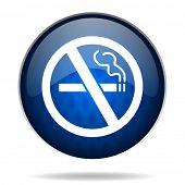 no smoking internet icon