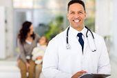 confident medical doctor portrait in hospital