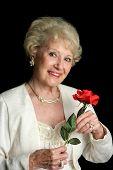 Elegant Successful Senior Lady