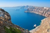 Caldera. Santorini Island. Greece