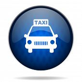 taxi internet icon