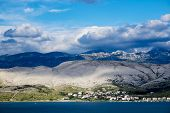 Summer day on the island of Pag, Croatia, Europe