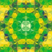 Vector Abstract Geometric Pattern