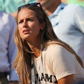 Andy Murray's girlfriend Kim Sears at US Open 2014 at Billie Jean King National Tennis Center