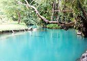 Blue Lagoon In Vang Vieng, Laos