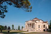 stock photo of vicenza  - Villa La Rotonda is a Renaissance villa just outside Vicenza in northern Italy and designed by Andrea Palladio - JPG