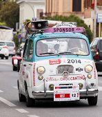 OLD CAR Fiat 600 MILLE MIGLIA 2014