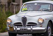 OLD CAR  Alfa Romeo 1900 Super berlina 1955 MILLE MIGLIA 2014