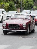 OLD CAR Ferrari 250 GT Europa Pinin Farina 1955 mille miglia 2014
