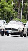 OLD CAR BMW 507 MILLE MIGLIA 2014