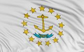 3D Rhode Island Flag