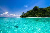 Lagoon Seascape Peaceful Wallpaper