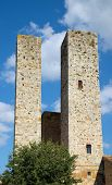 Two Medieval Towers
