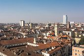 Turin from above, Italy