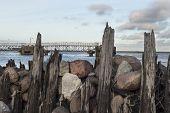 Breakwaters On The Baltic Sea