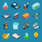 Isometric Science Icons