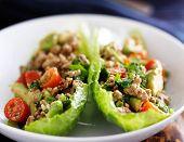 avocado turkey lettuce wraps