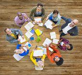 Diversity Design Team Leadership Studying Concept