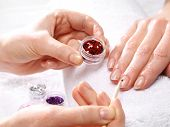 picture of acetone  - Decorations of nails - JPG