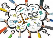 Employee Rights Employment Equality Job Team Support Concept