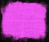 Lavender magenta burlap textured background
