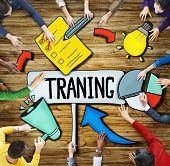 People Aspirations Innovation Development Training Symbol Ideas Concepts